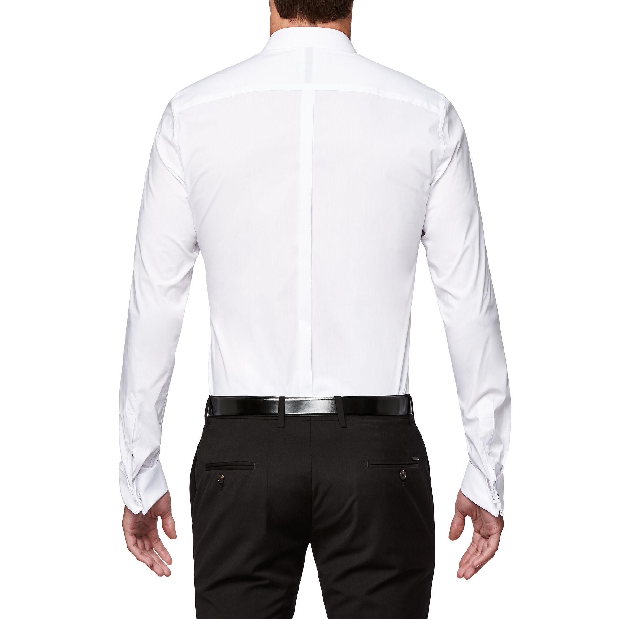 8b3520c3e1f Hammond - White - L S French Cuff Formal Shirt