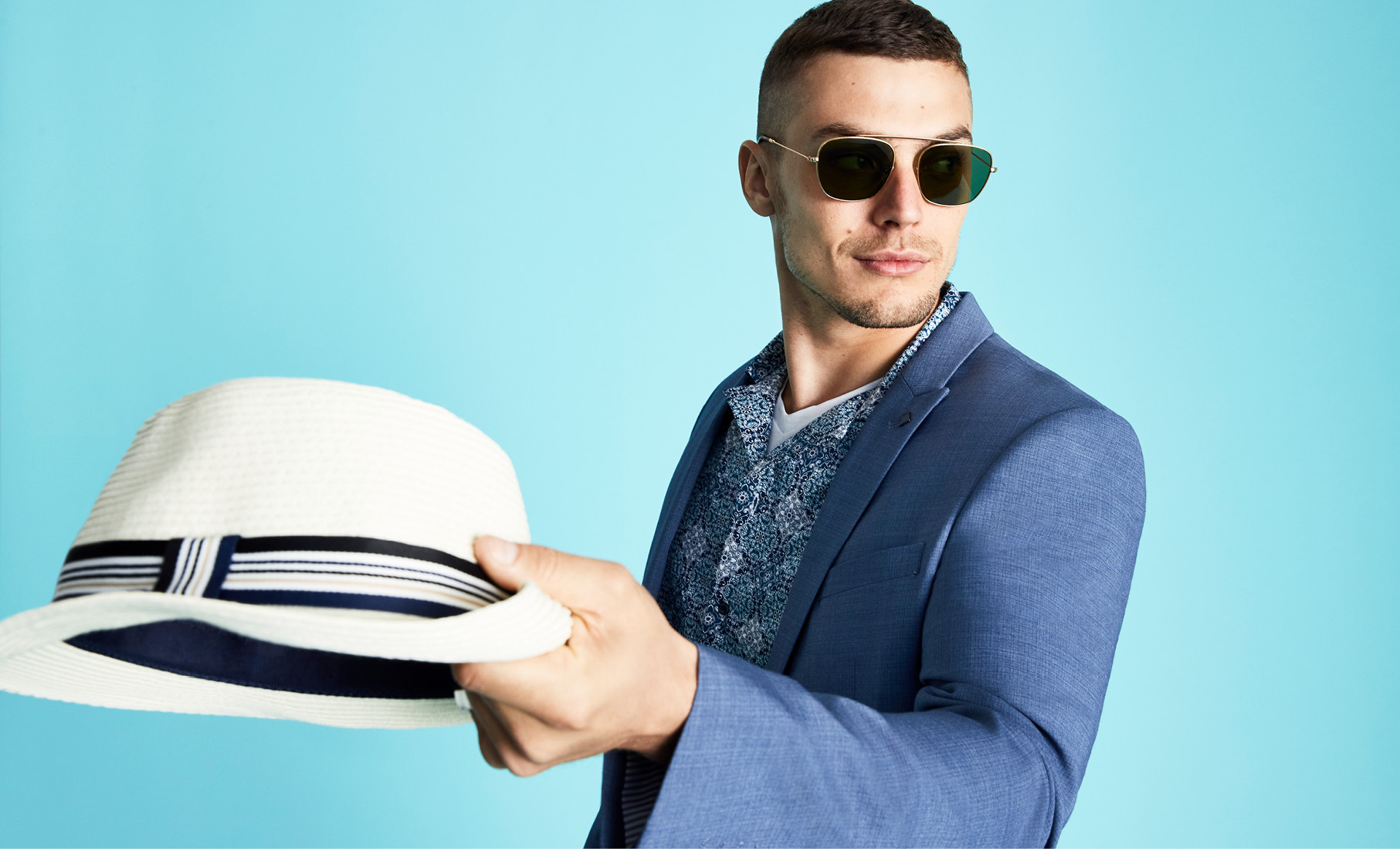 mens summer accessories - hat, glasses and more