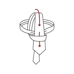 Full Windsor Knot Step 8