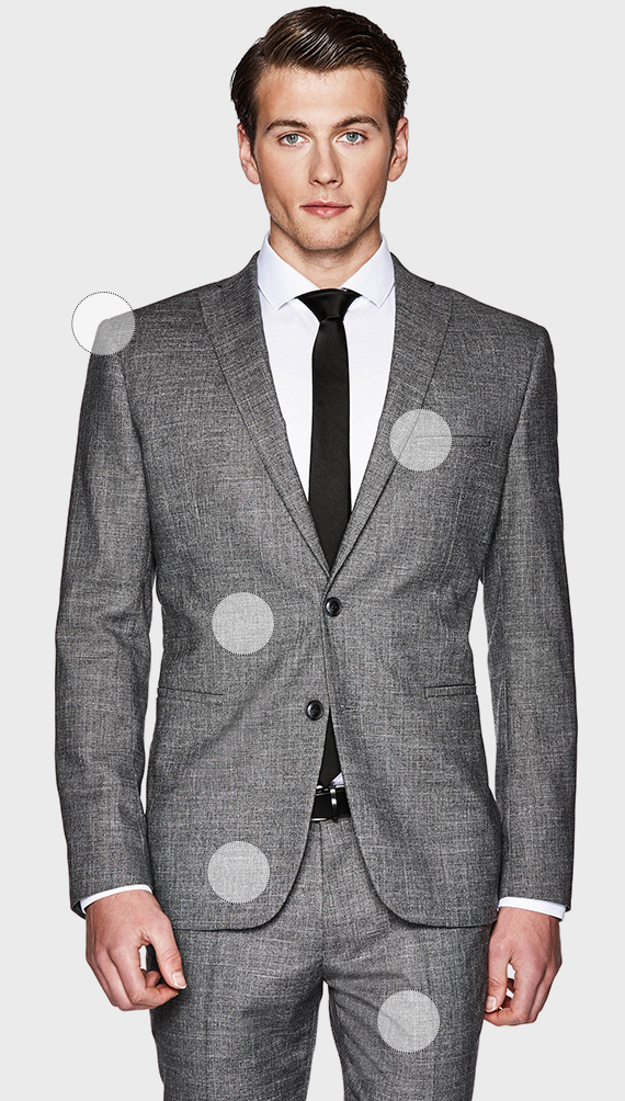 MODERN TAILORING FIT SUIT JACKET