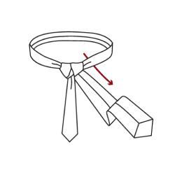 Full Windsor Knot Step 6
