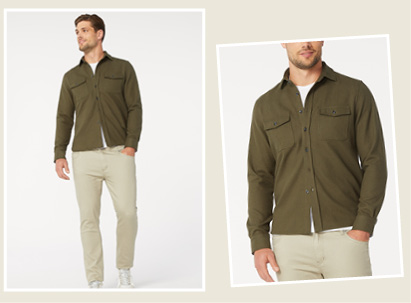 Overshirt For Men