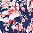 COLTIN, Navy/Pink Floral, swatch