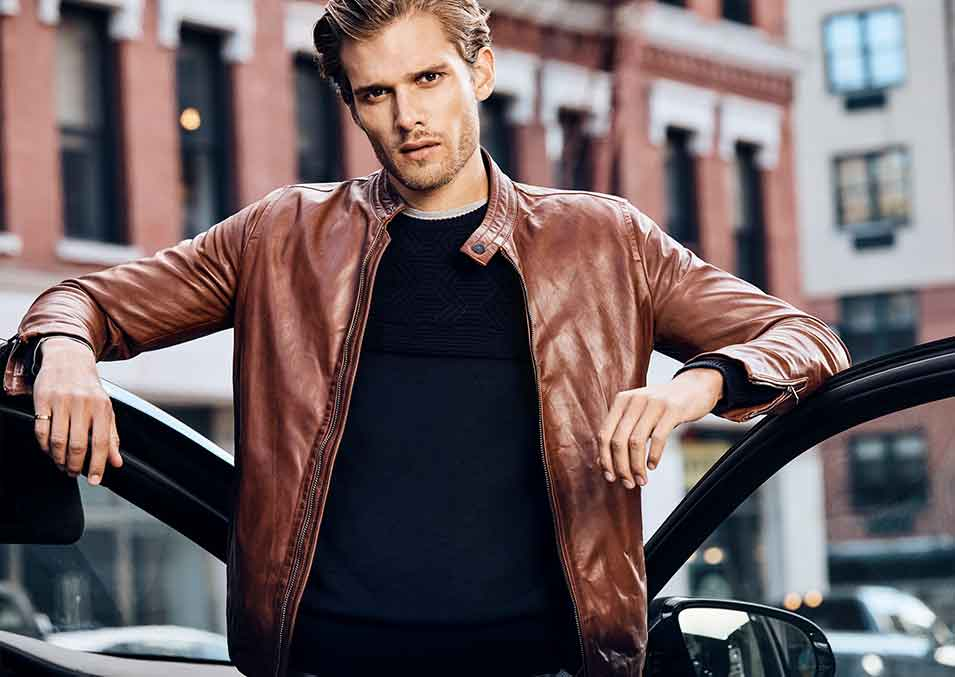 Mens Leather Jackets - Free Shipping in Australia