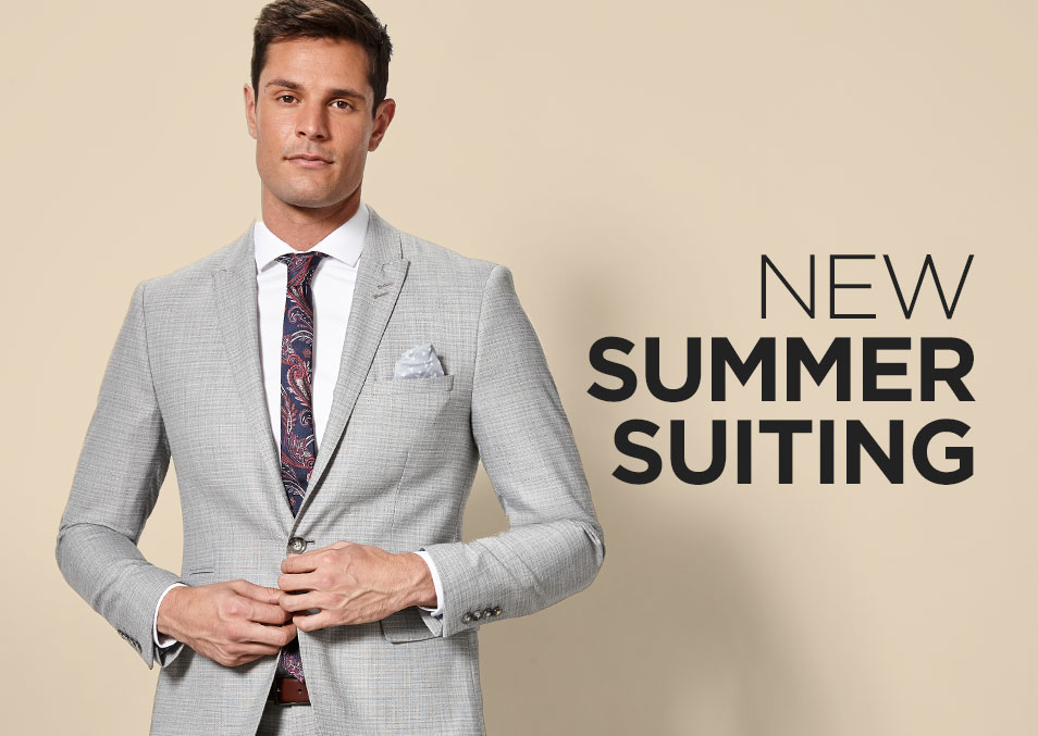 New Summer Suiting
